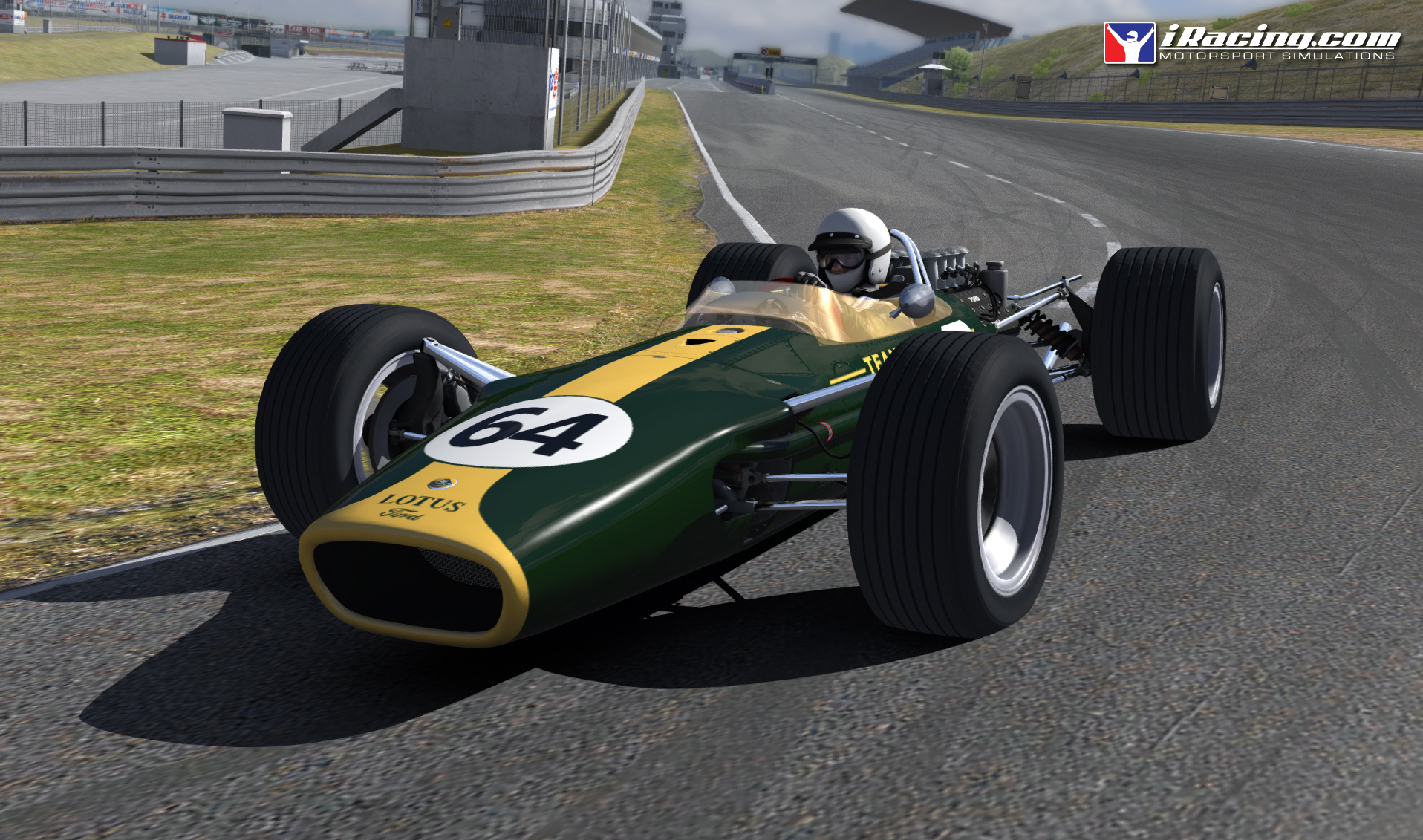 Console racers frequently flock to PC's iRacing