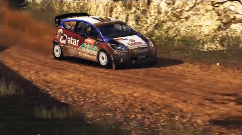 WRC 4 gameplay trailer reprises Australia
