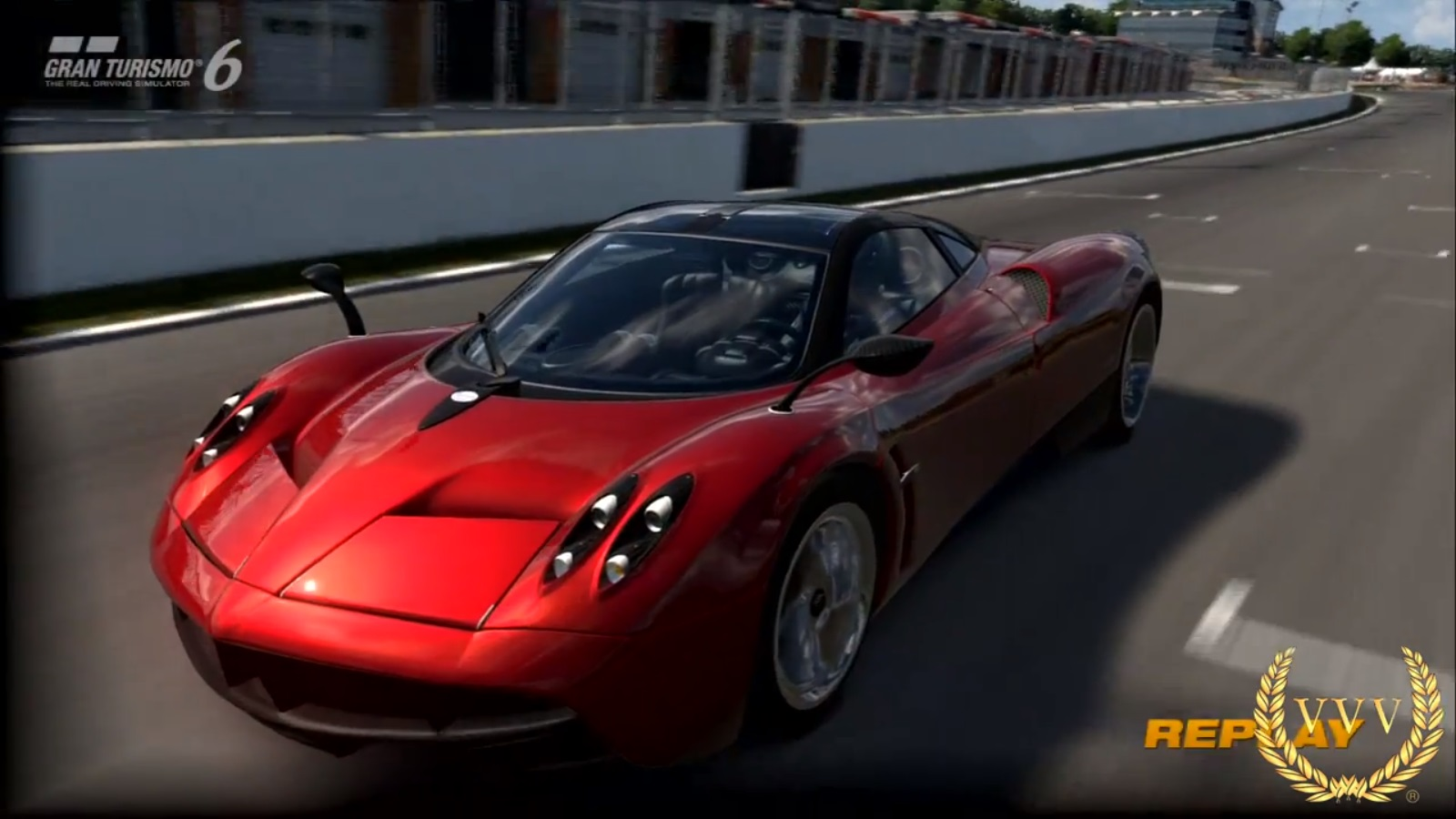 gran turismo 6 multi cam gameplay pagani huayra at brands hatch grand prix circuit team vvv. Black Bedroom Furniture Sets. Home Design Ideas