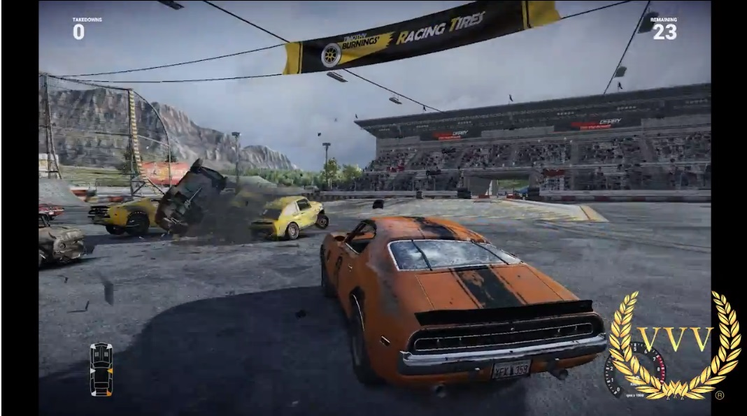 Next Car Game Early Access Pre-Alpha gameplay - Demolition Derby Action
