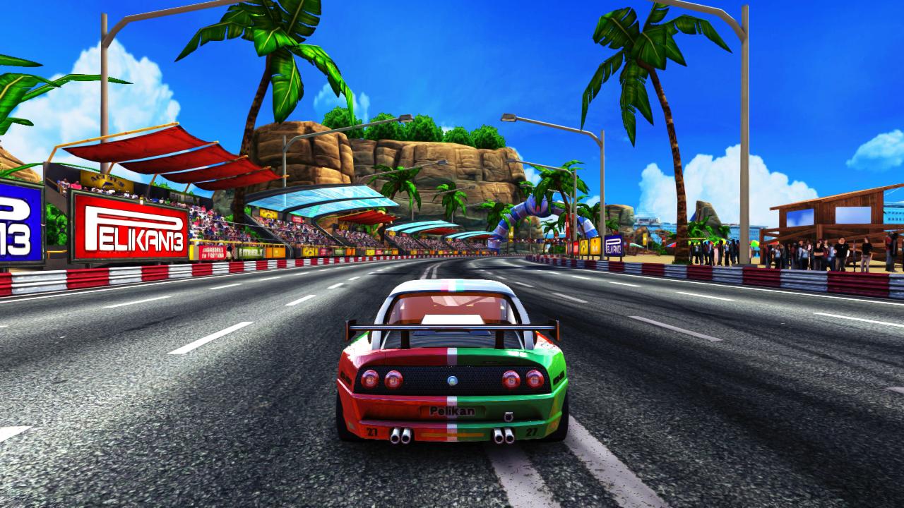 The '90s Arcade Racer