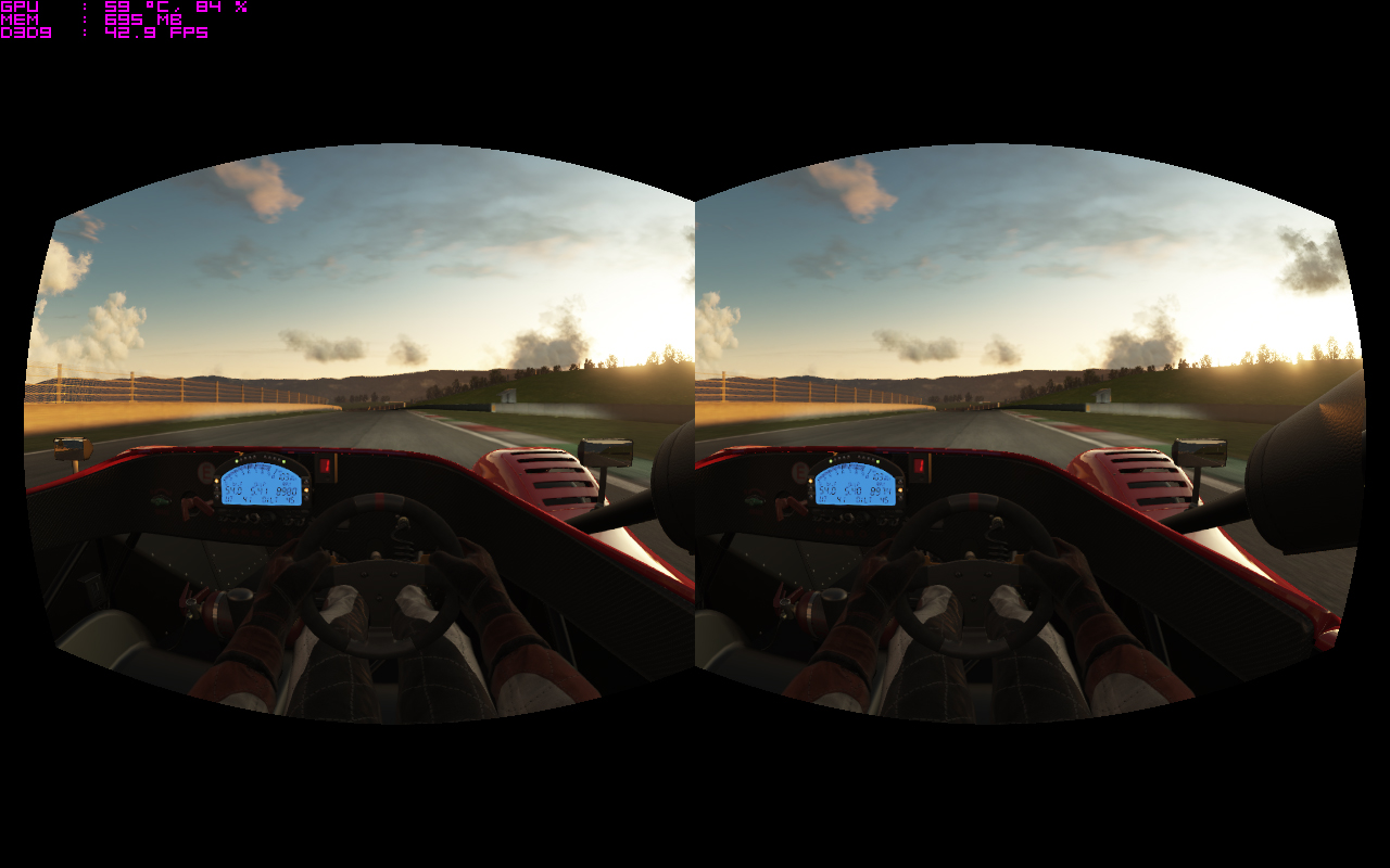 Will virtual reality revolutionise racing games?