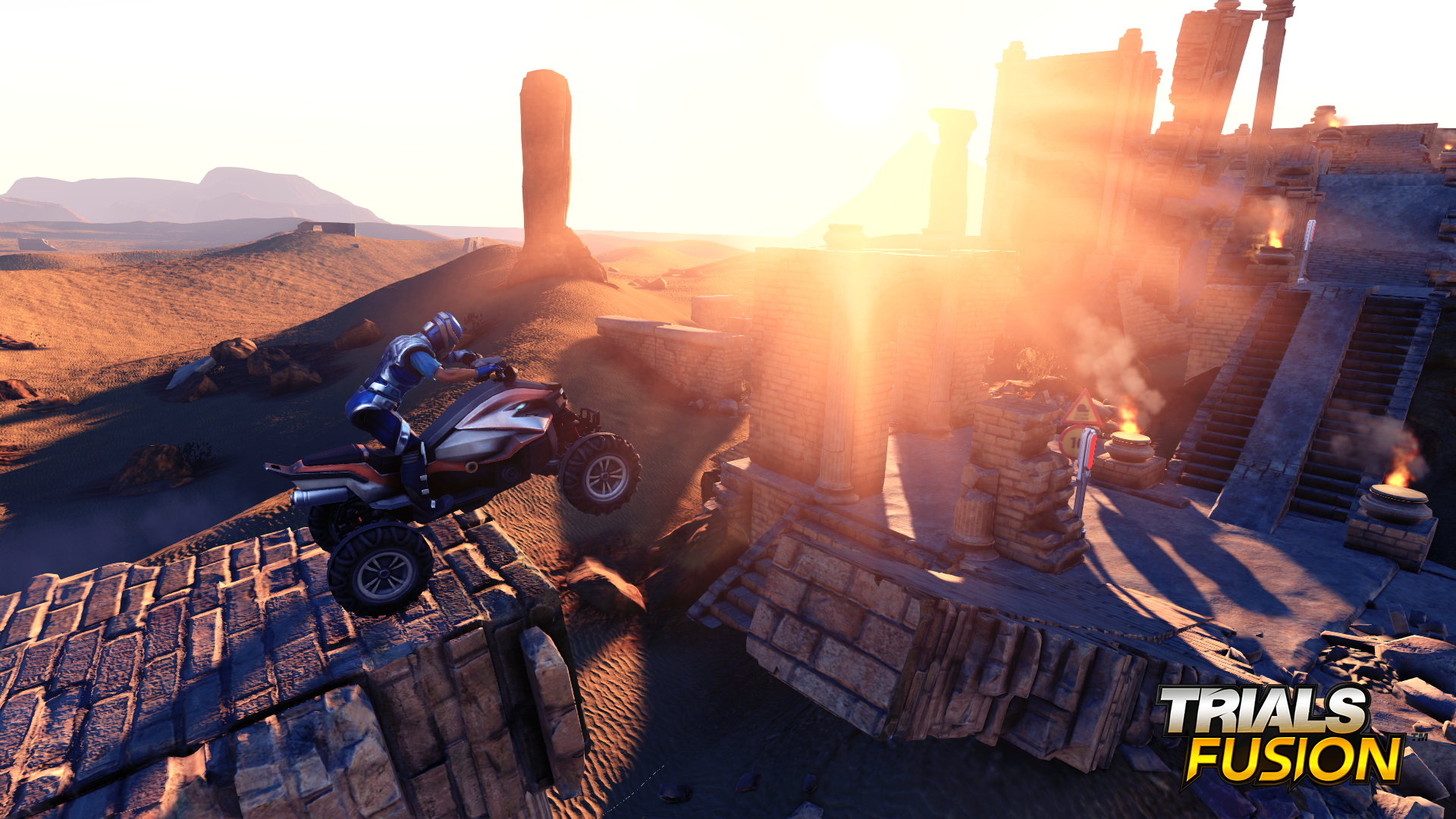 Trials Fusion runs at 1080p on PS4, 900p on Xbox One