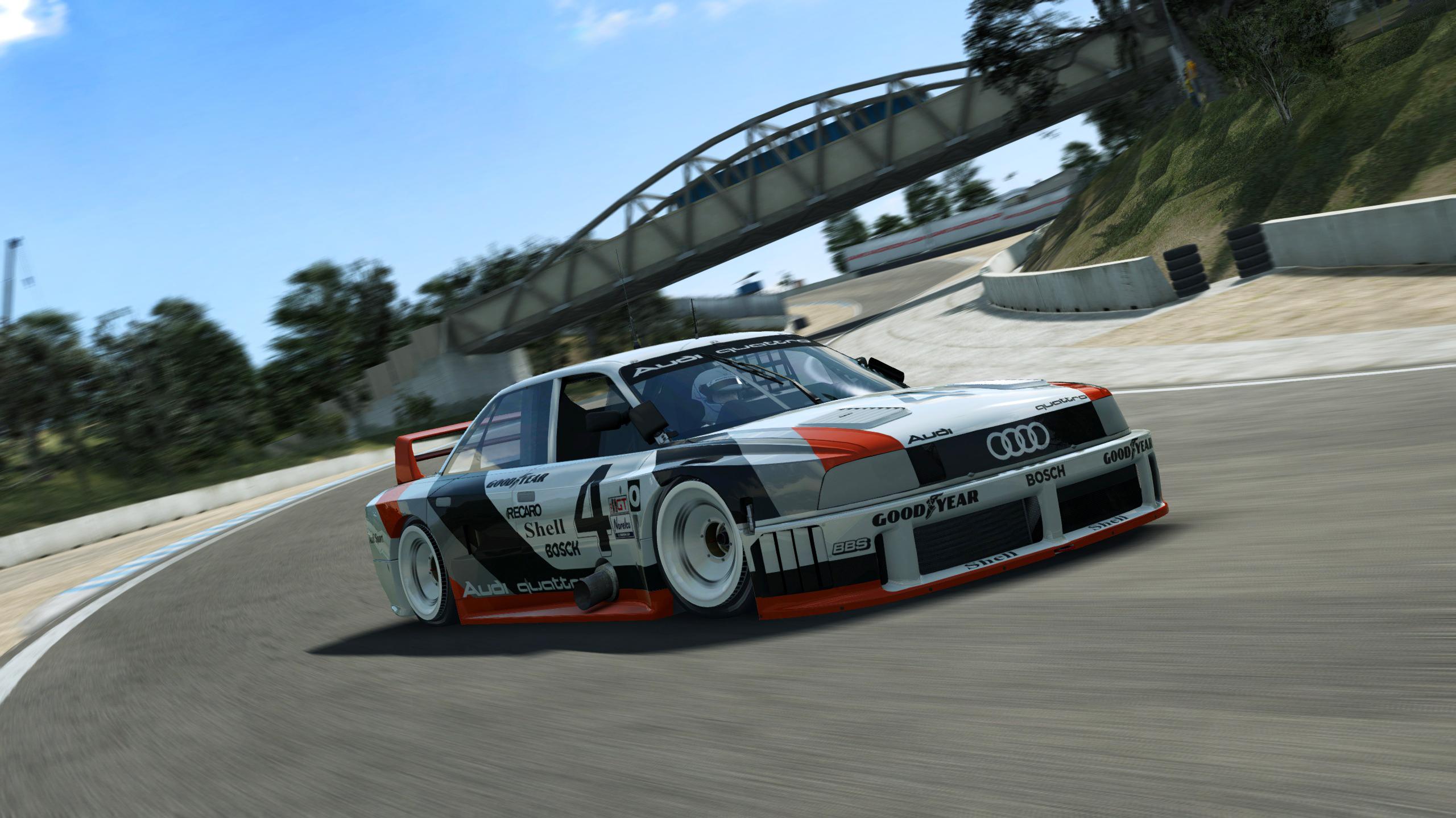 Turbocharged Audi 90 Quattro Imsa Gto Races Onto R3e