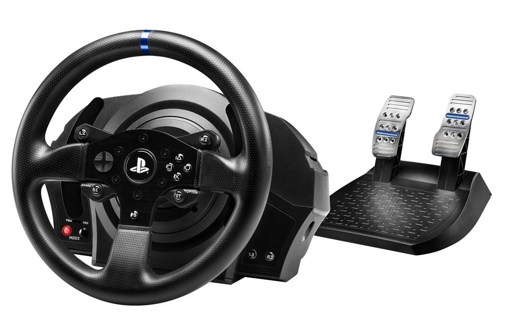 Thrustmaster announce the T300 RS: the first official force feedback wheel for PS4