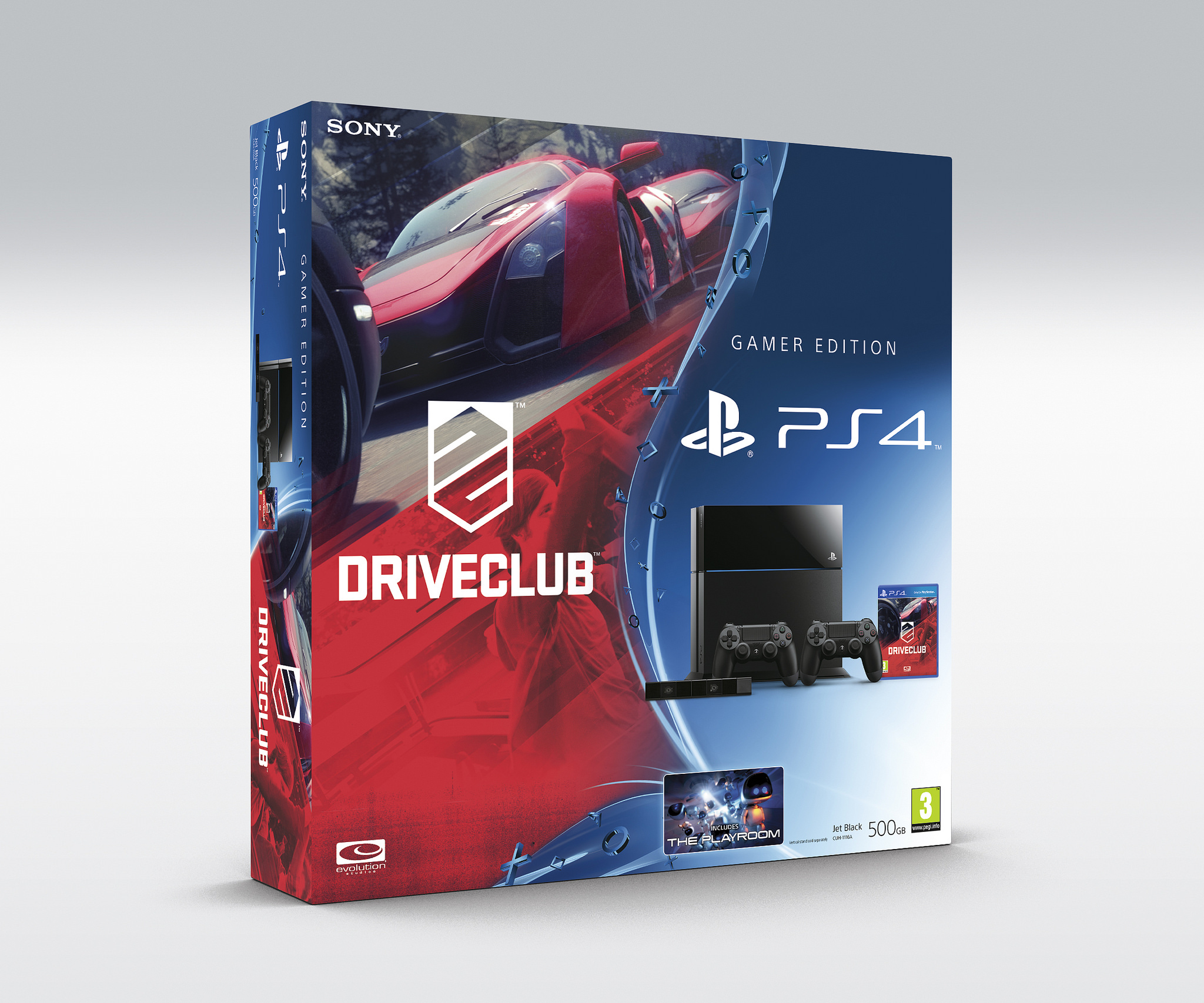 DriveClub PS4 Bundles Announced For Europe Includes White Glacier