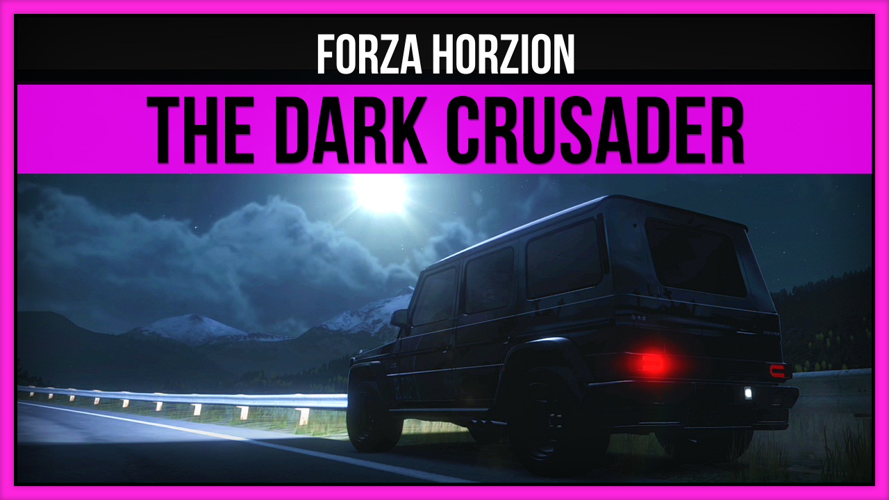 Forza Horizon - The Dark Crusader