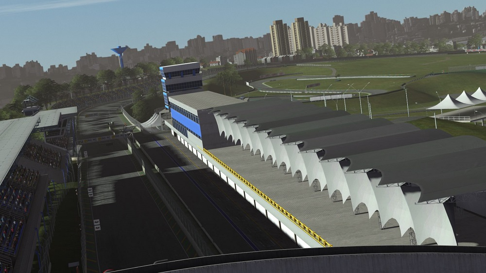 Interlagos F1 circuit now available for rFactor 2 - Team VVV