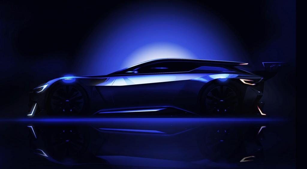 Subaru VIZIV GT Vision Gran Turismo teased ahead of release