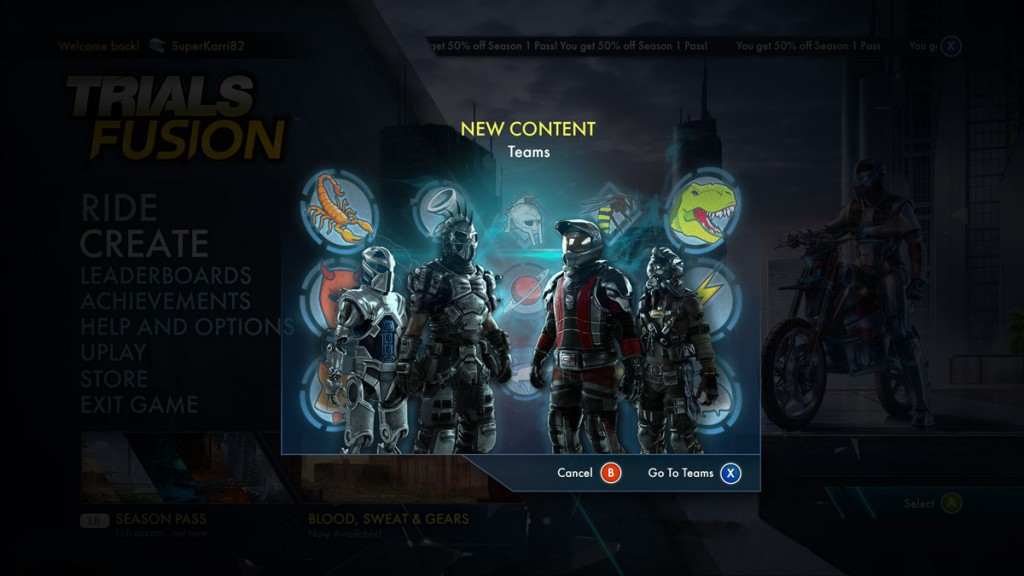 Online multiplayer finally landing in Trials Fusion early