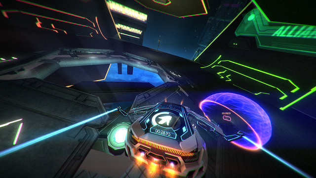 Tron-inspired Distance deploying on Steam Early Access December 9th
