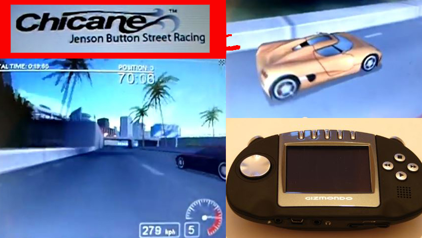 Chicane: Jenson Button Street Racing on Gizmondo