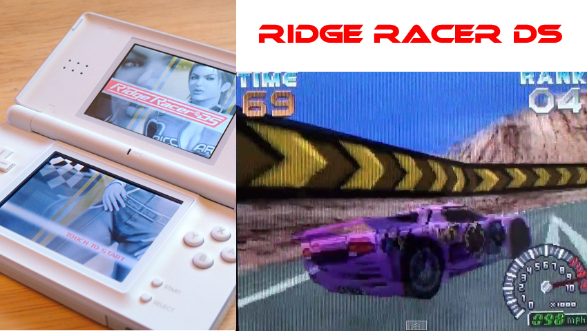 Ridge Racer DS on the Nintendo DS / DSi