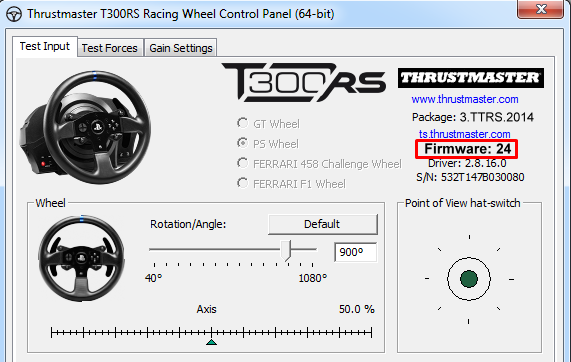 Thrustmaster firmware update optimises fan cooling and power management for TX and T300 RS