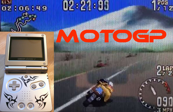 MotoGP on the Game Boy Advance