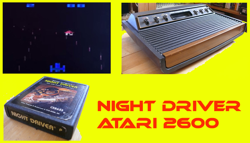 Night Driver on the Atari 2600