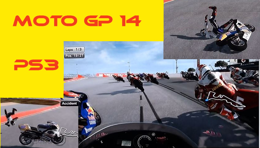 MotoGP 14 on the PS3