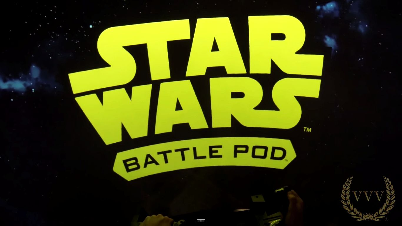 Star Wars Battle Pod Arcade 2015 EAG gameplay