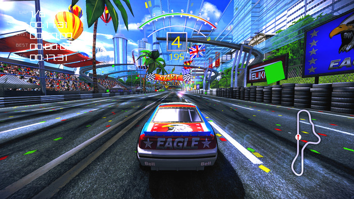 90's Arcade Racer - first gameplay video emerges