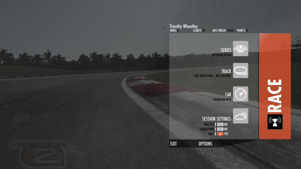 New UI and tyre physics tweaks brought to rFactor 2 - Team VVV