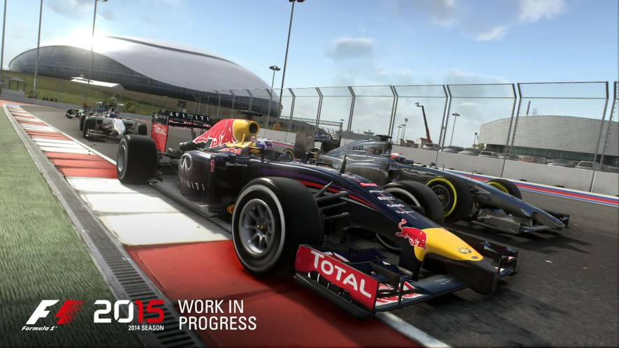 F1 2015 is 900p on Xbox One; 1080p on PS4