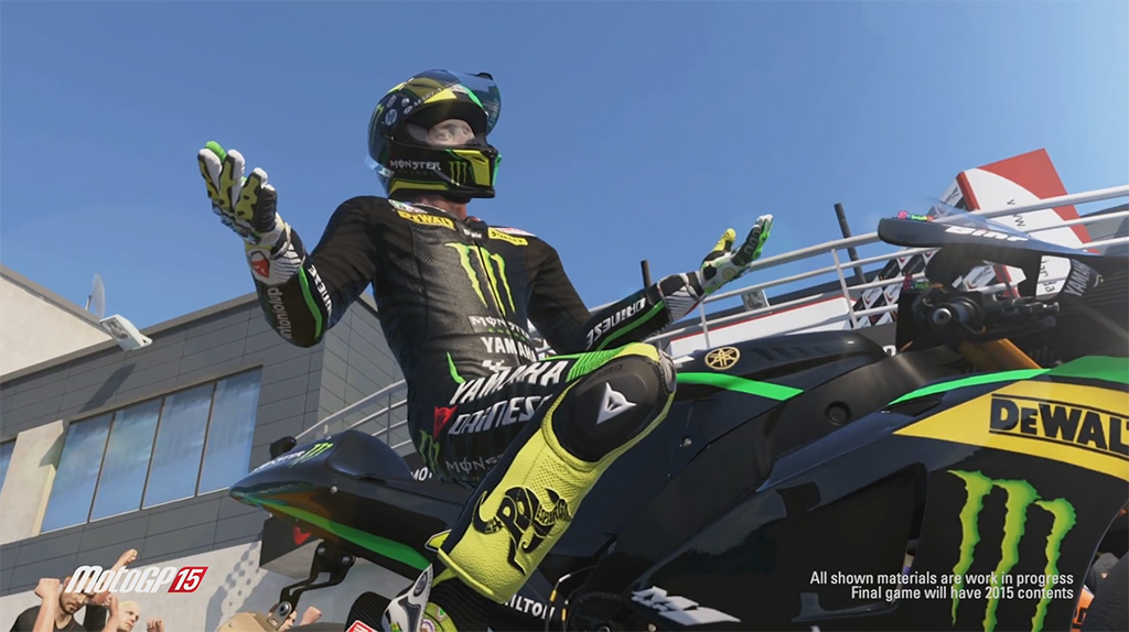 Milestone release two new MotoGP 15 screenshots :: Team VVV