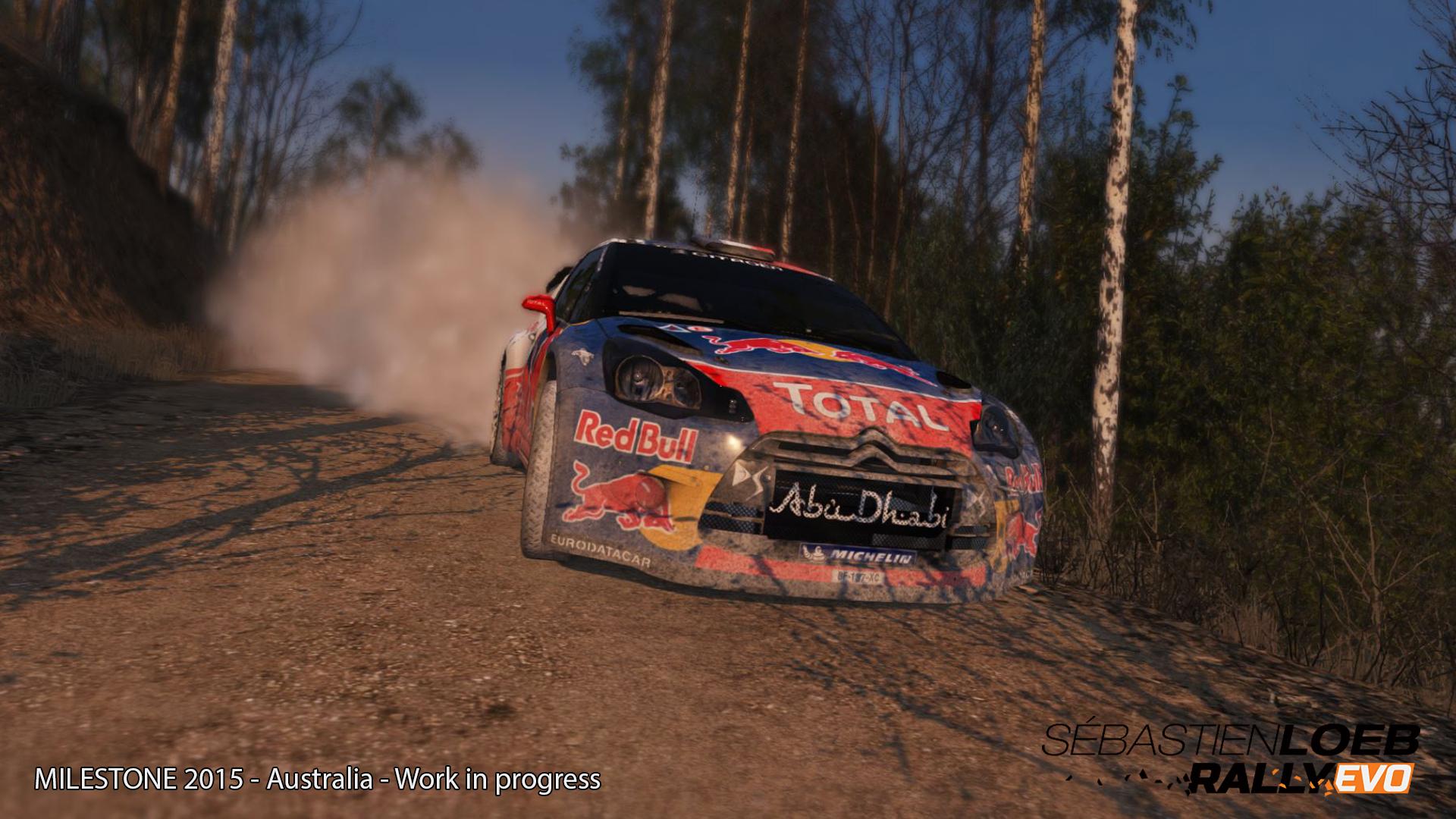 Stunning Sébastien Loeb Rally Evo Australia stage screenshots show fine detail