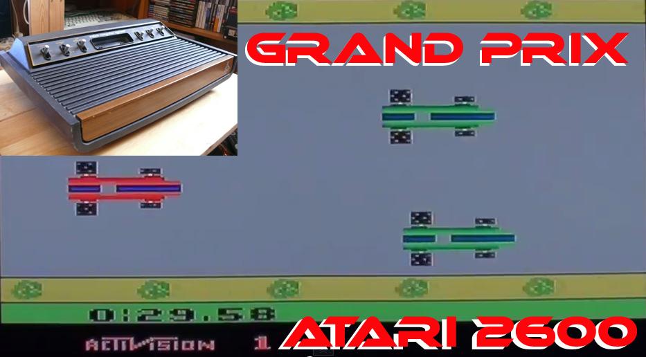 Activision's Grand Prix on Atari 2600