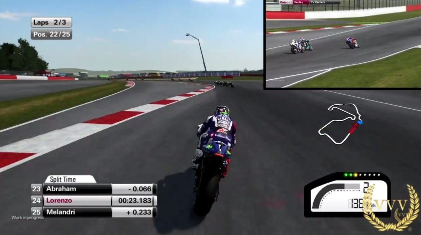 MotoGP 15 Exclusive Preview PS4 Gameplay :: Team VVV