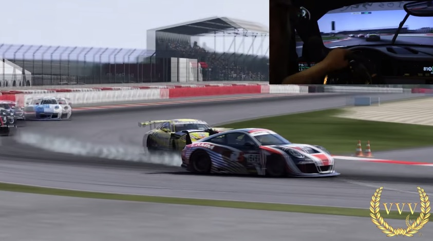 Project CARS PS4 Gameplay Ruf GT3 Race With 100 AI Difficulty