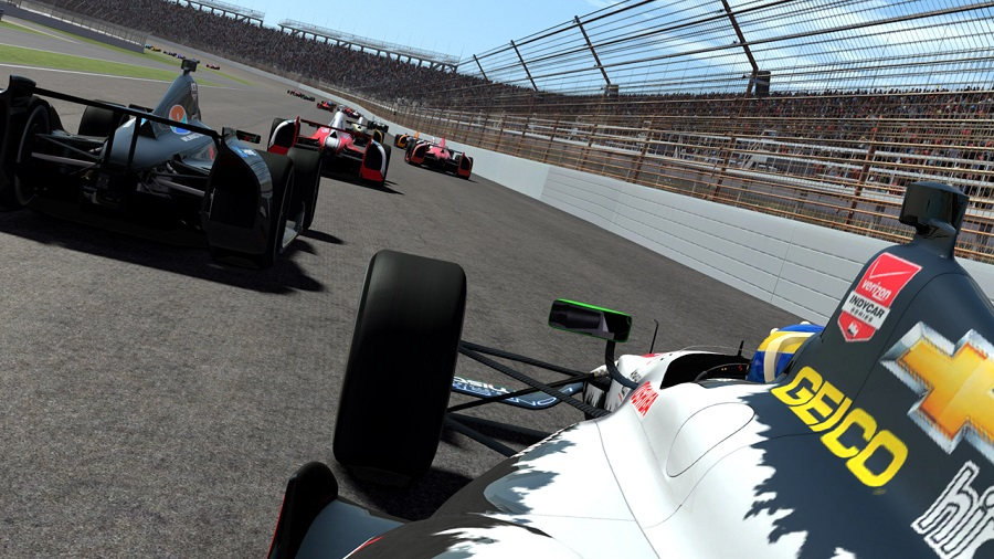 rFactor 2: Updated Dallara DW12 Indy car out now - Team VVV