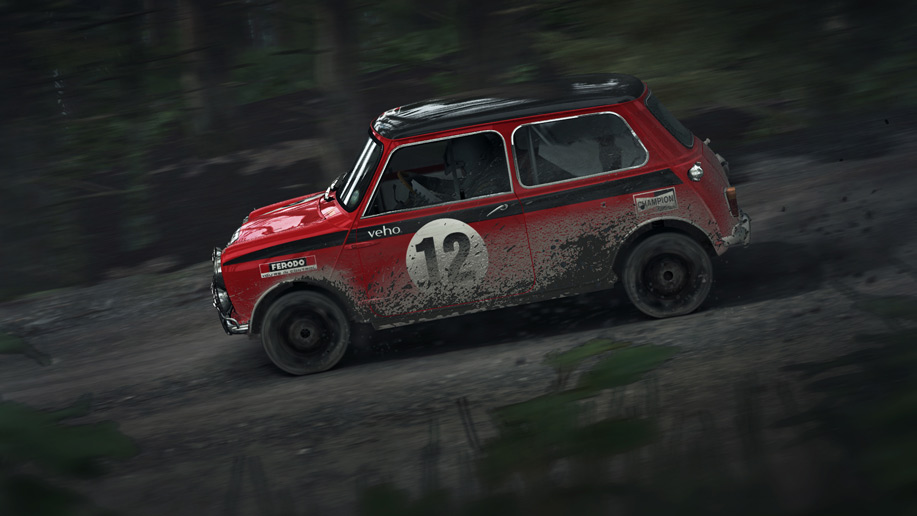 DiRT Rally's v0.4.5 update improves force feedback and more