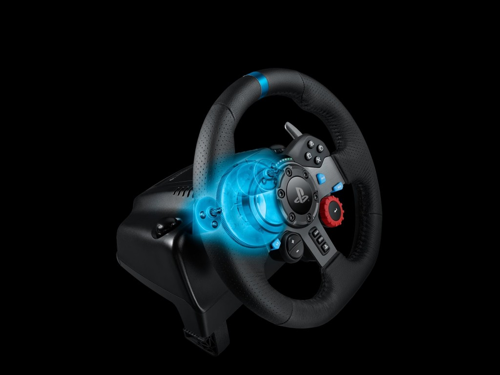 Logitech G29 and G920 Force Feedback wheels officially announced
