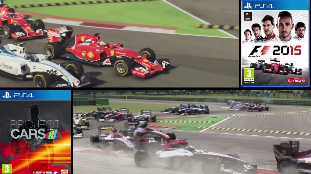 project cars vs f1 2015 ps4 replay comparison at monza. Black Bedroom Furniture Sets. Home Design Ideas