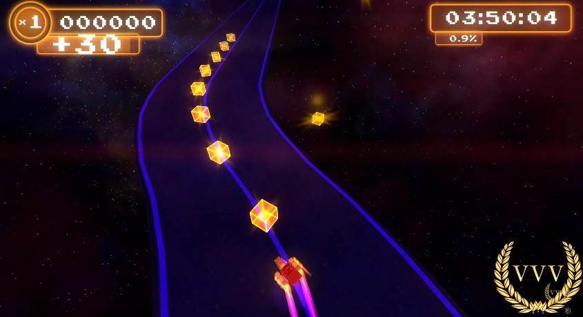 Spectra 8bit Racing gameplay on Xbox One