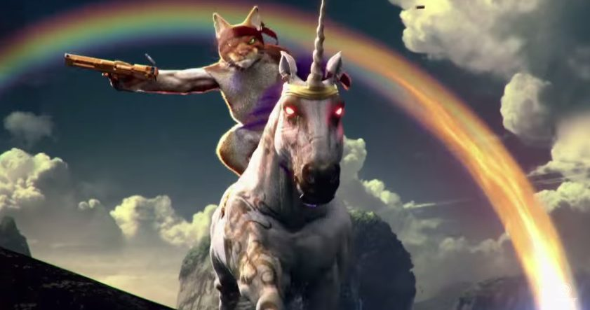 You can now play as a cat on a fire breathing unicorn in - Trial fusion unicorn ...