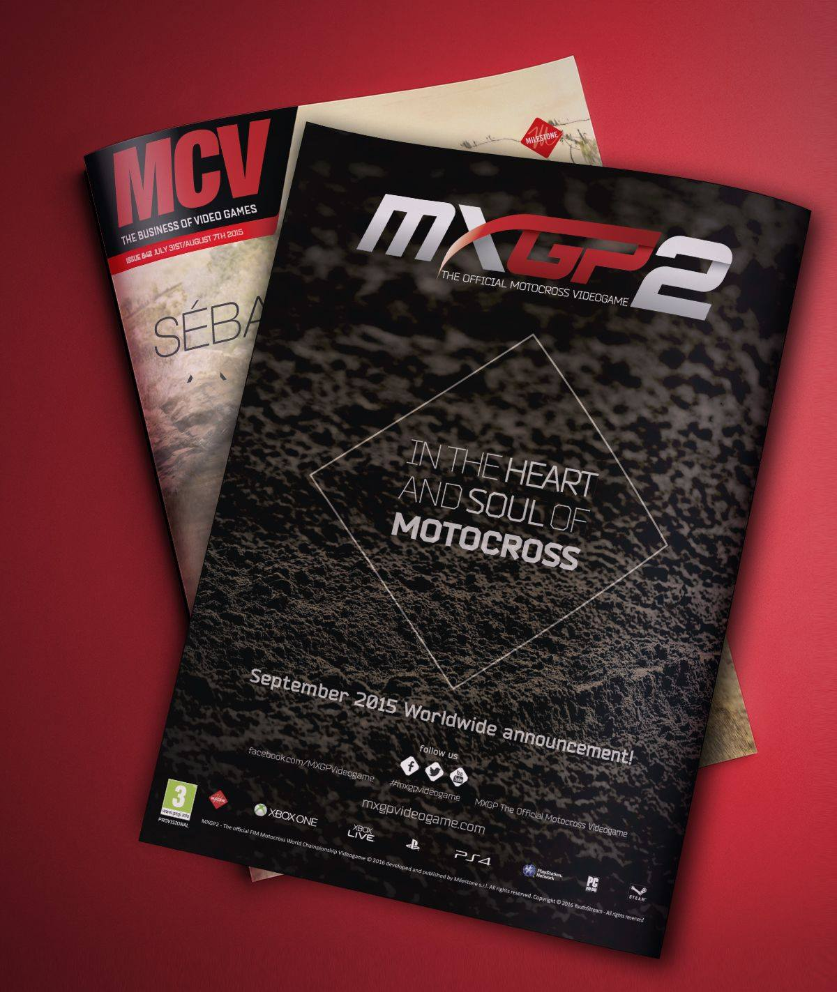 MXGP 2 to be announced in September