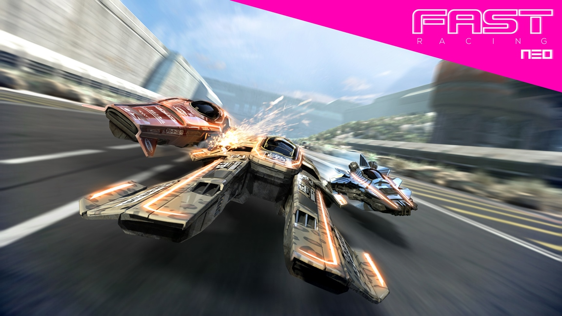 EGX 2015: Fast Racing Neo first look gameplay