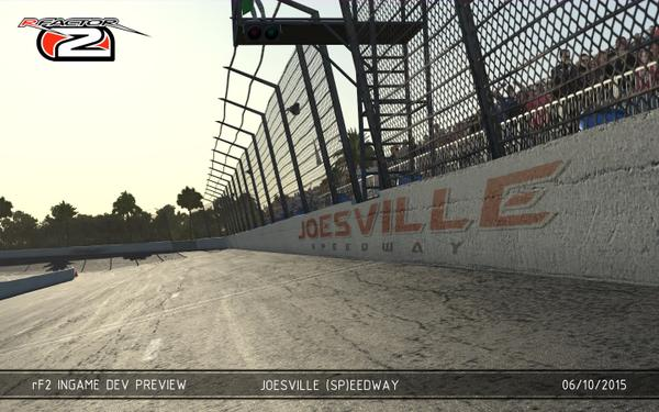 "Revamped rFactor track ""Joesville Speedway"" coming to rFactor 2"