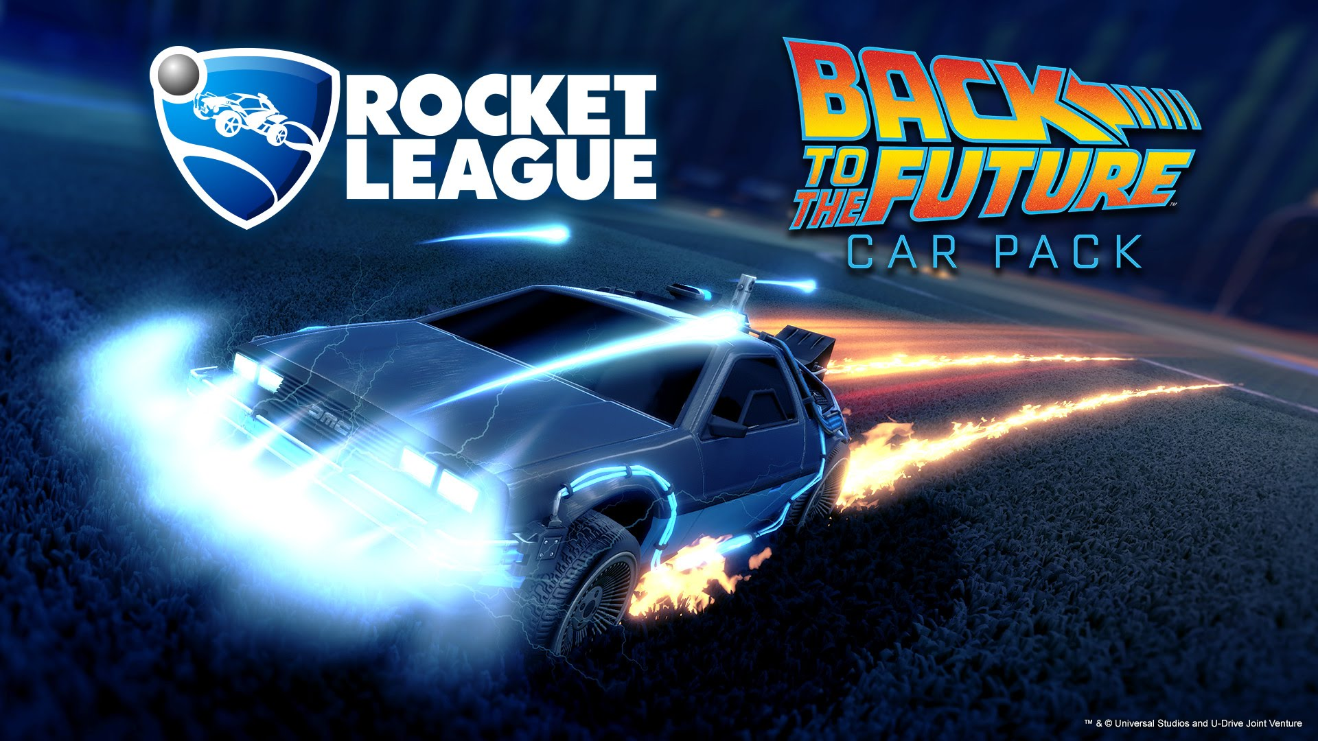 Back To The Future Pack DLC coming to Rocket League