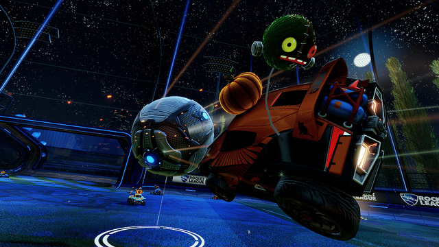 Halloween themed customisation items coming to Rocket League