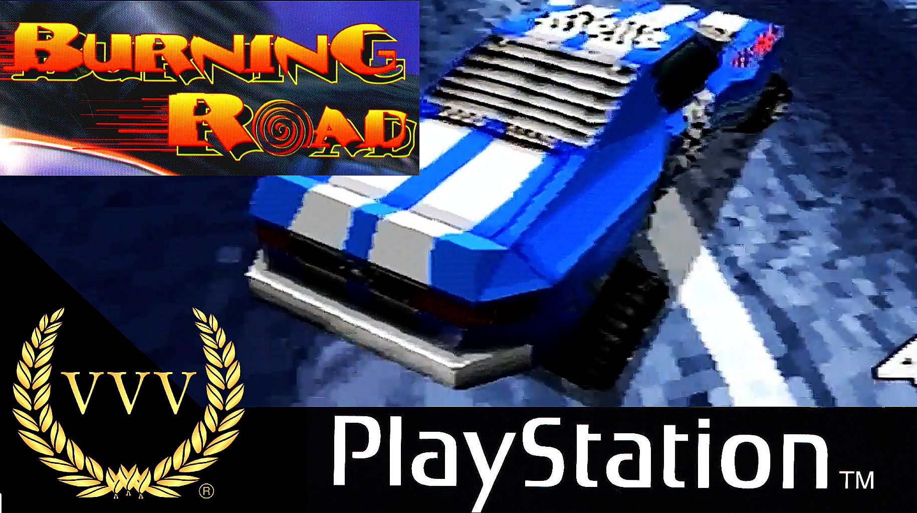 Getting our retro fix with Burning Road on the PS1