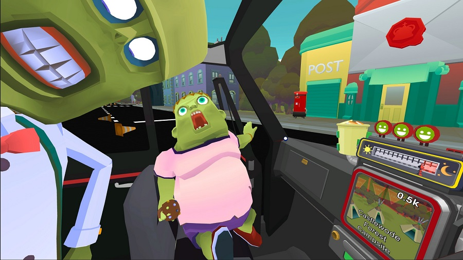 PSVR title The Modern Zombie Taxi Co. looks all kinds of crazy