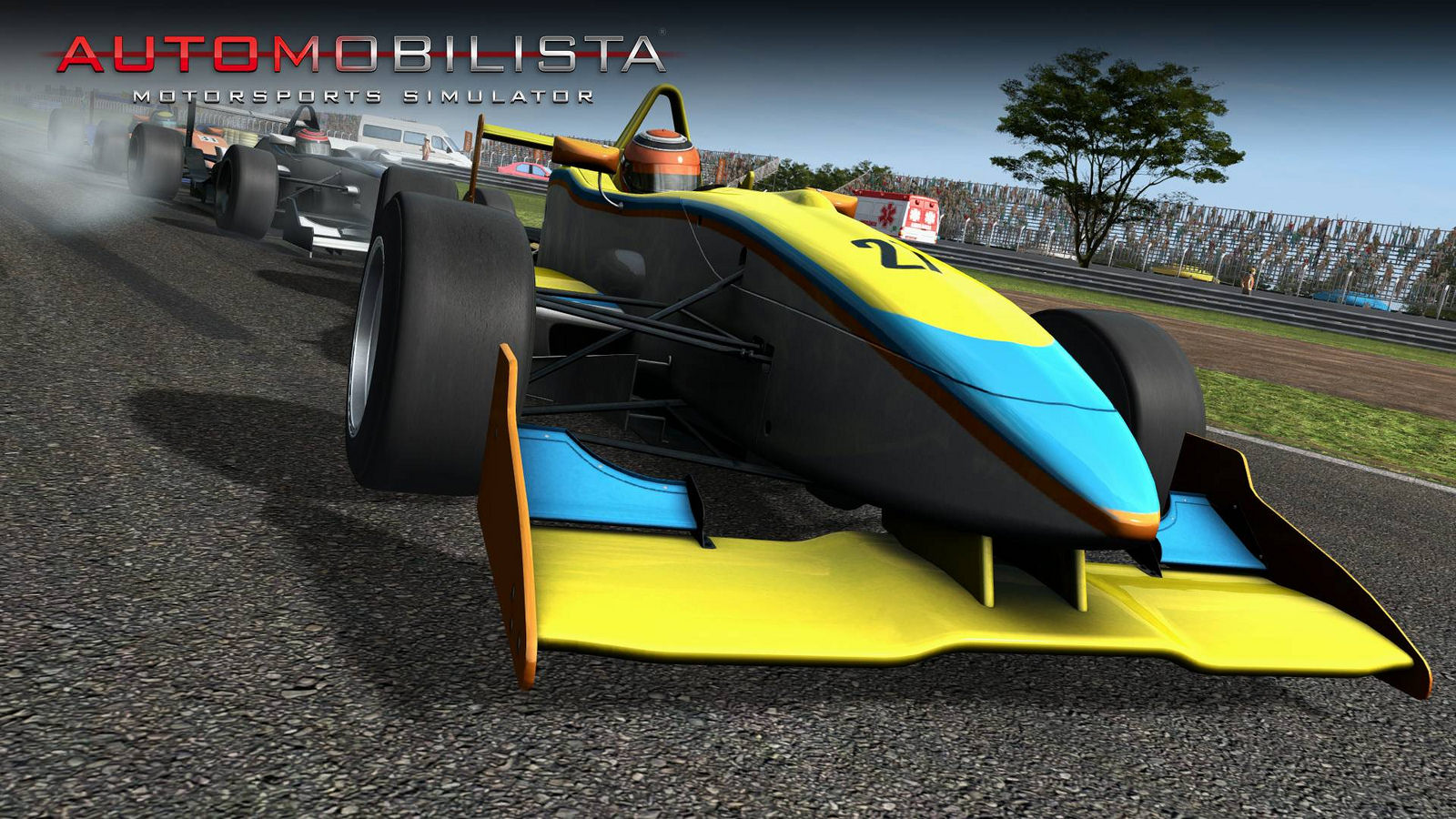 Automobilista Motorsports PC screenshot showing single seater