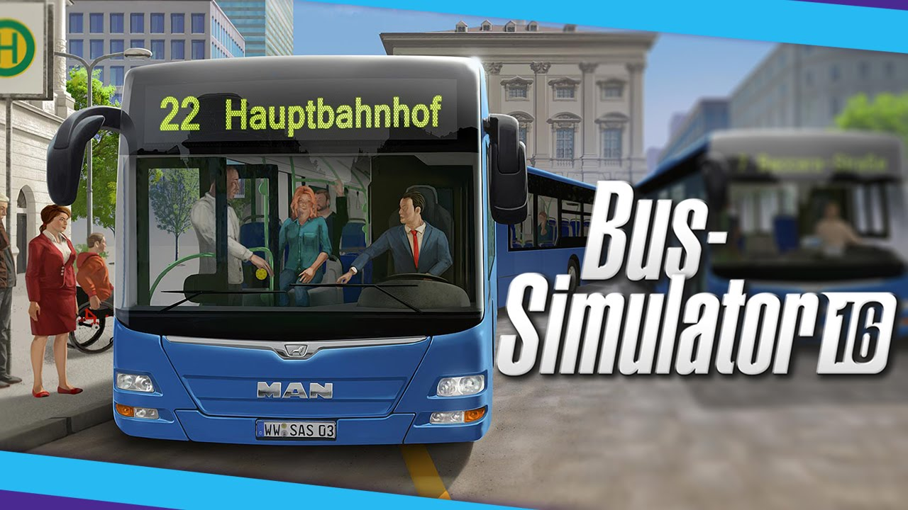 Bus Simulator 16 PC artwork