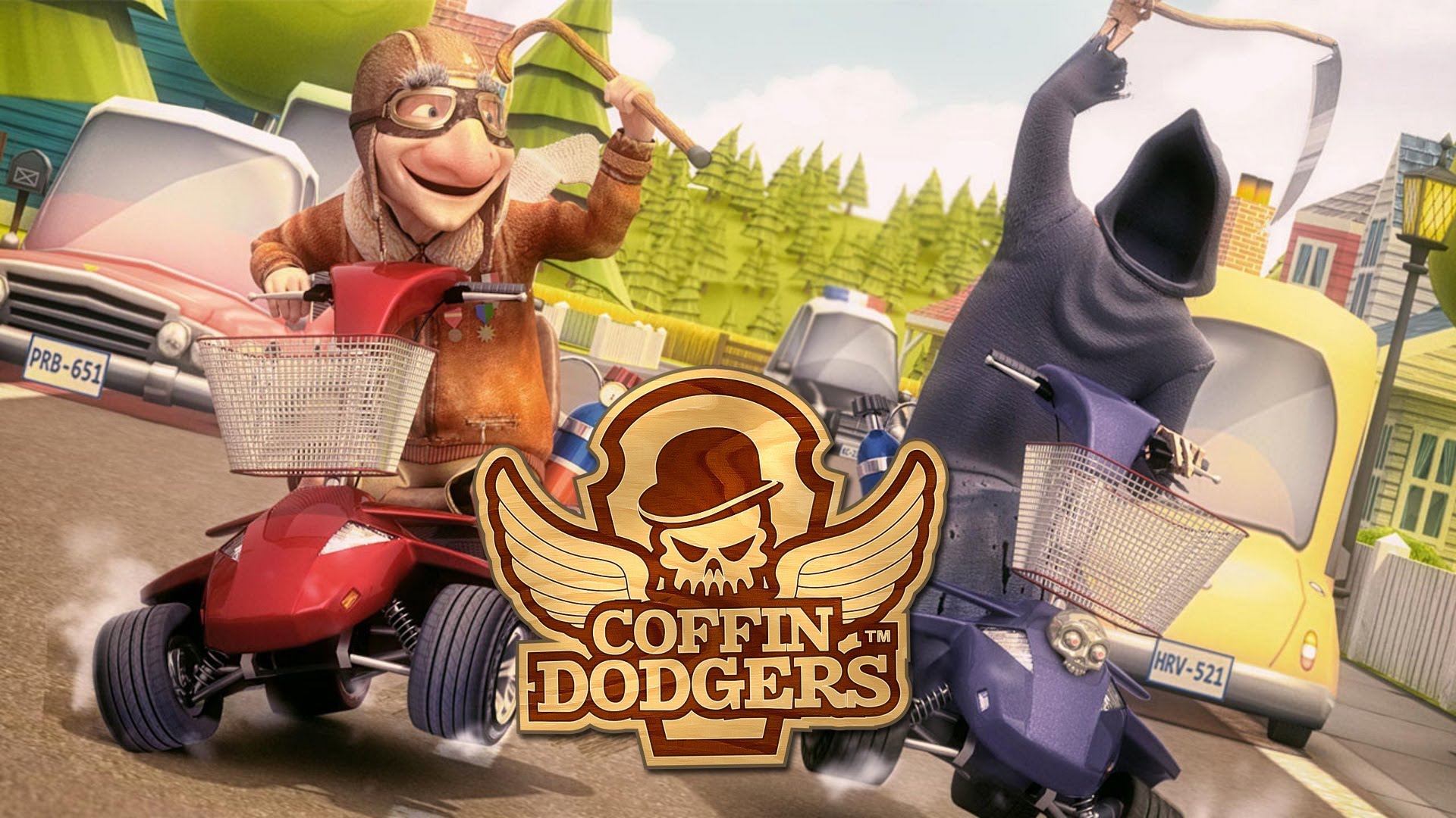 Coffin Dodgers PS4 Xbox One artwork