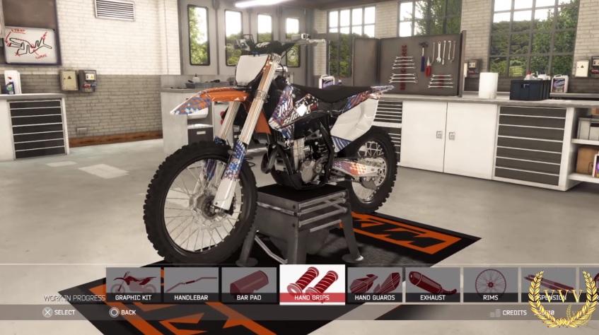 mxgp 2 ps4 preview rider and bike customisation team vvv. Black Bedroom Furniture Sets. Home Design Ideas