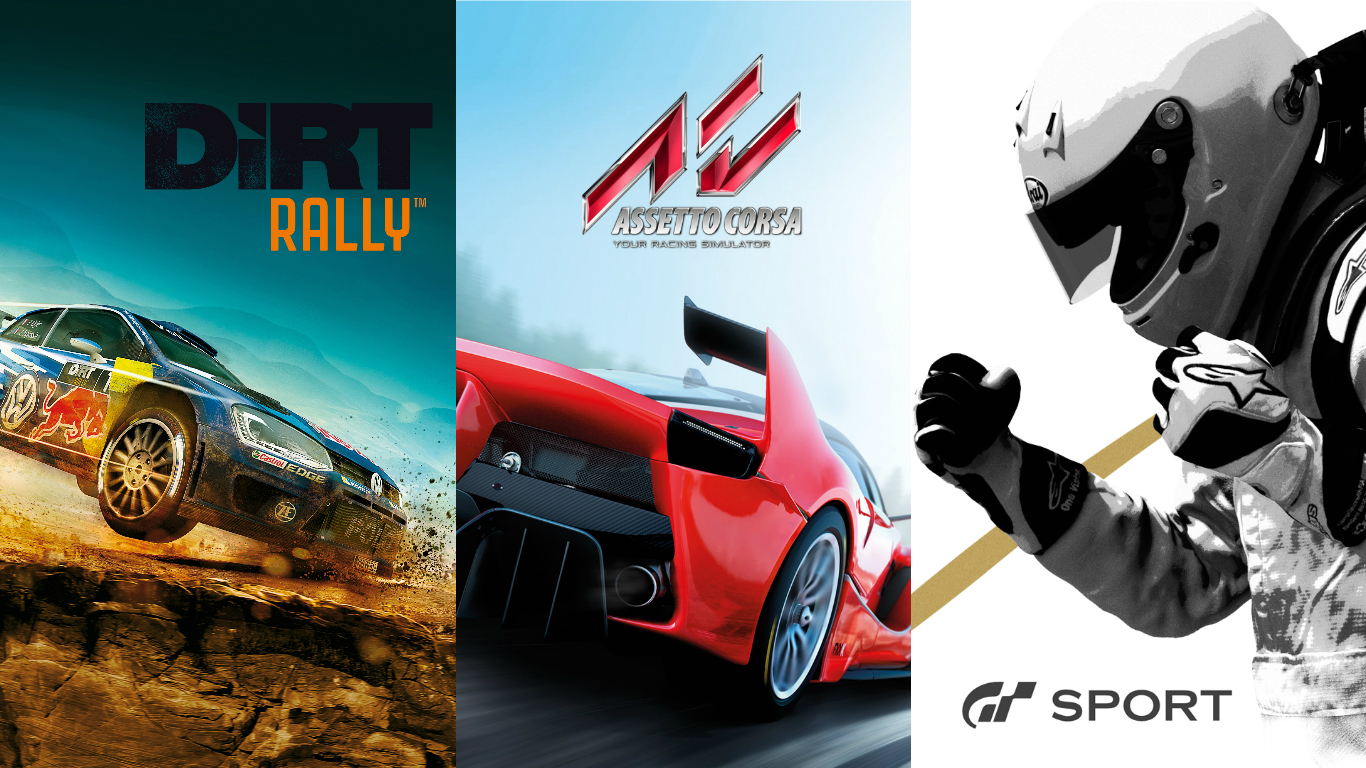 The racing games of 2016 - Team VVV