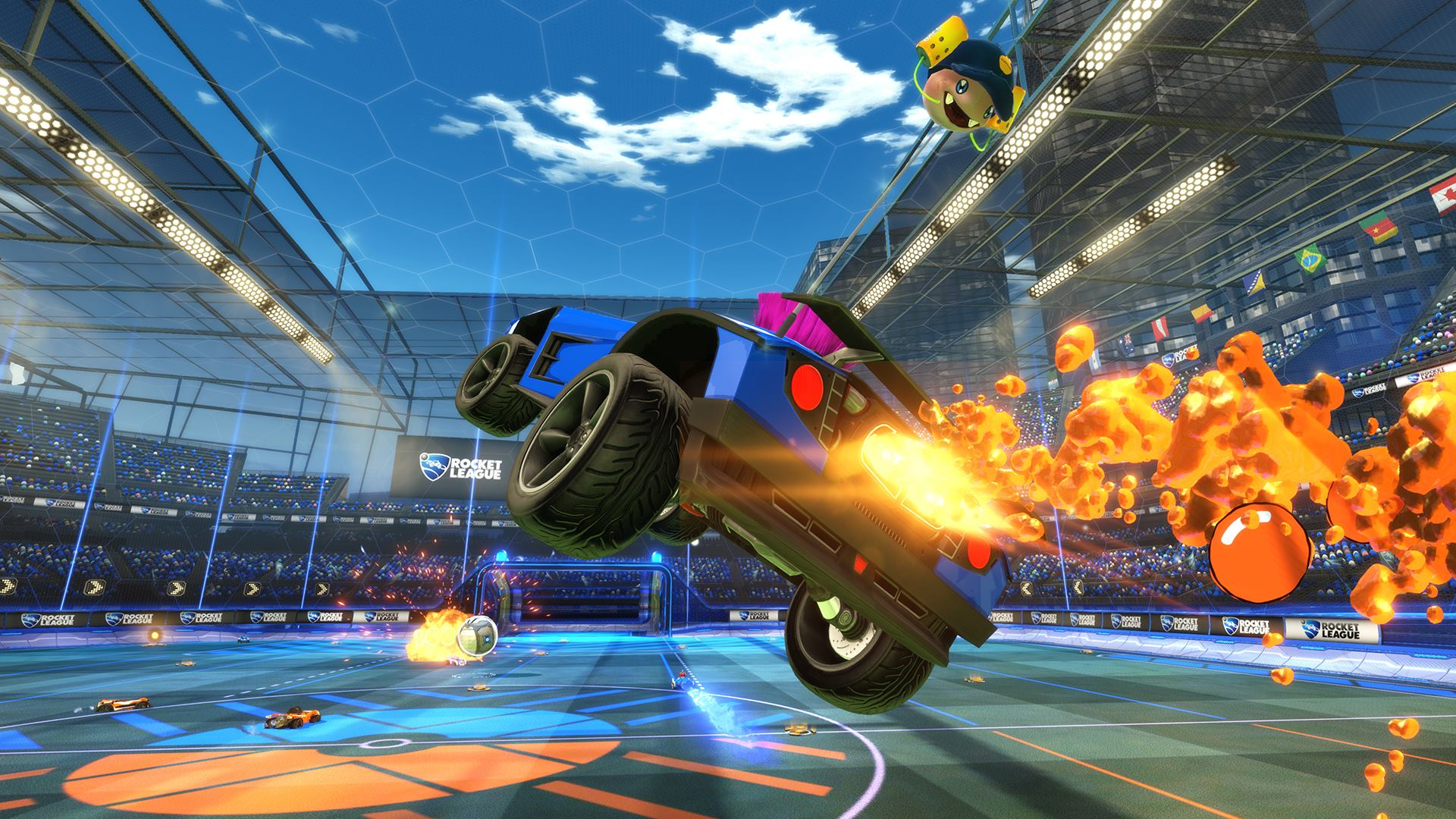 Rocket League Xbox One screenshot
