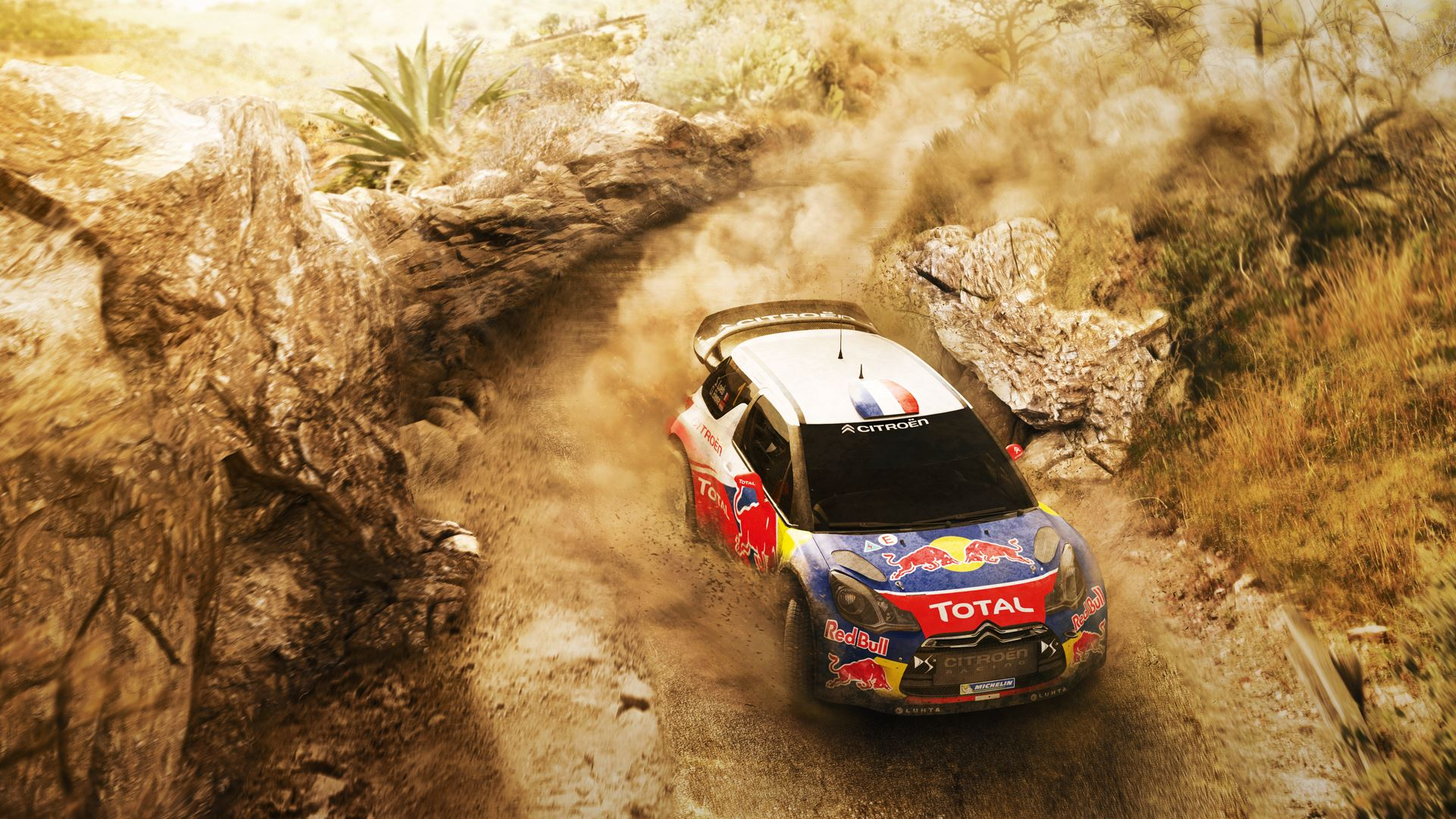 Sebastien Loeb Rally Evo artwork with Citroen DS3 WRC